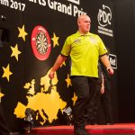 Live Darts Stream mit Michael van Gerwen – Semifinal: [4] Simon Whitlock (AUS) 0:6 [1] Michael van Gerwen (NED) during Professional Darts Corporation (PDC), German Darts Grand Prix (GDGP) at Maimarkthalle, Mannheim, Baden-Württemberg, Germany on 2017-09-10, Photo: Sven Mandel