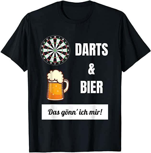 Darts und Bier - das gönn' ich mir T-Shirt