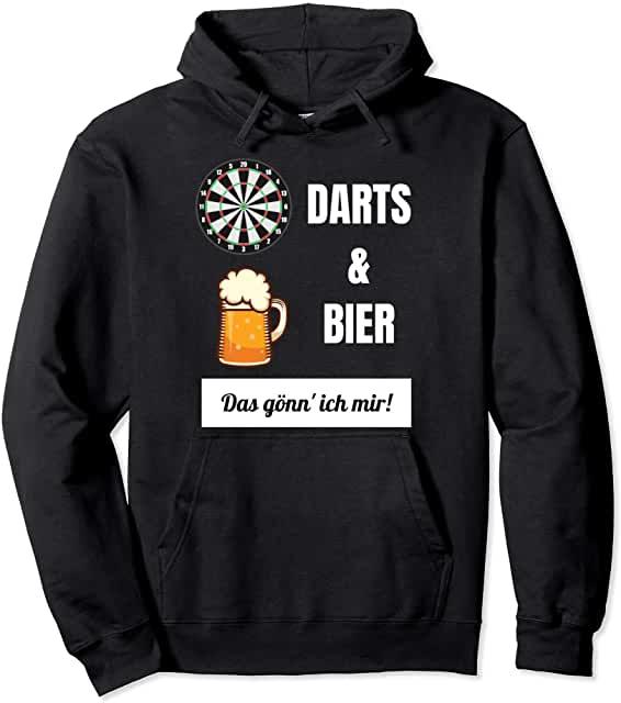 Darts & Bier das gönn ich mir Hoodie