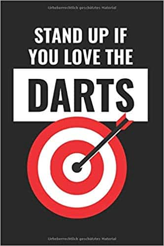 Stand up if you love the Darts Notizbuch